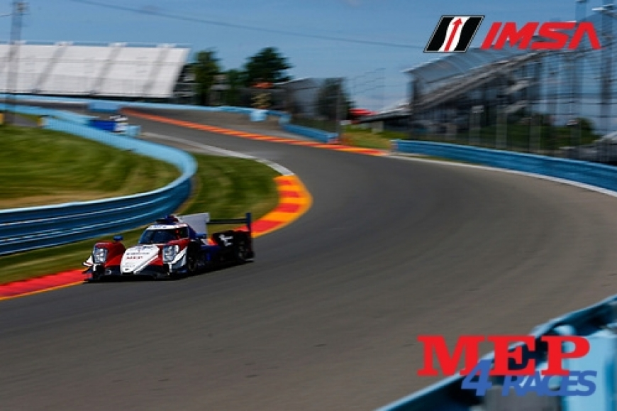 MEP's Sponsored Racing Team glorious classification - LMP2 Pole and Victory for Gabriel Aubry at Watkins Glen Circuit - IMSA Series 2