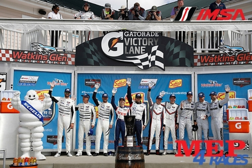 MEPs Sponsored Racing Team glorious classification - LMP2 Pole and Victory for Gabriel Aubry at Watkins Glen Circuit - IMSA Series 3