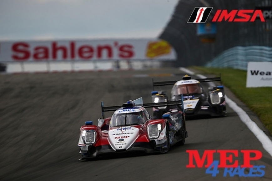 MEP's Sponsored Racing Team glorious classification - LMP2 Pole and Victory for Gabriel Aubry at Watkins Glen Circuit - IMSA Series 4